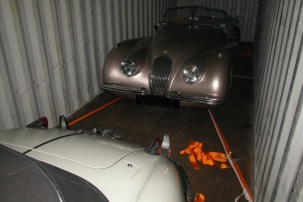XK120 OTS To The UK