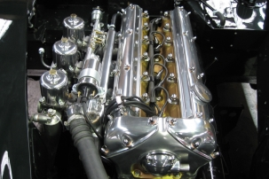 Concour 3.8 XK150S engine fitted
