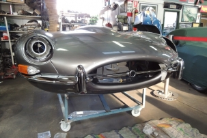 OUR 4.2 E-TYPE RESTORATION