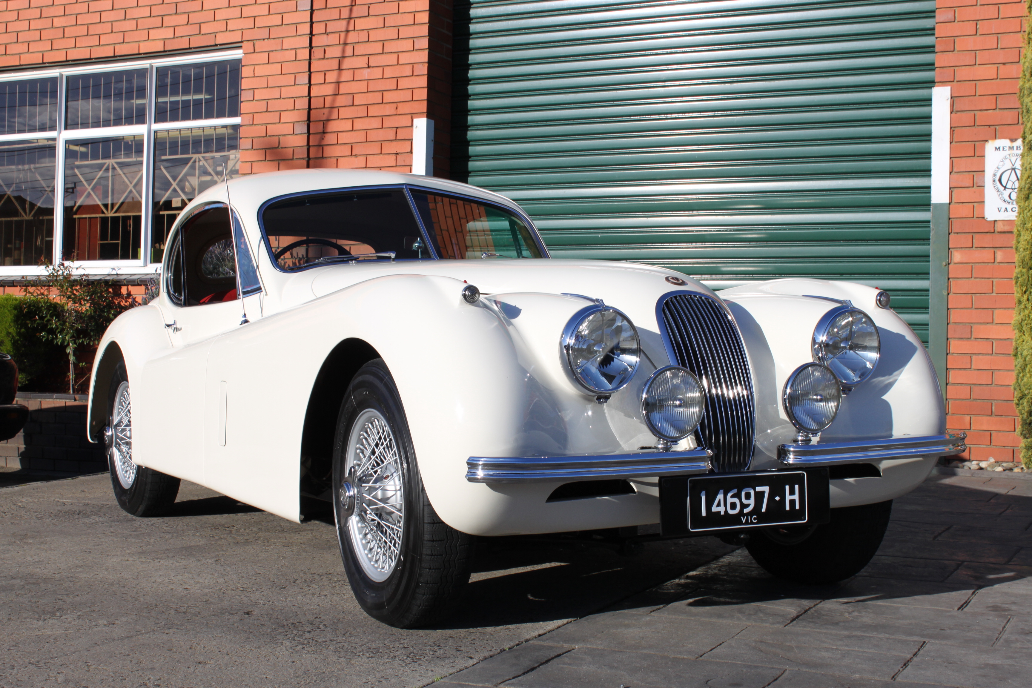 SOLD 1954 XK120 FHC