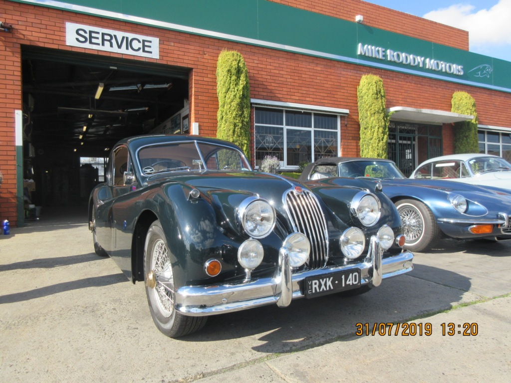 FOR SALE 1956 XK 140 MC