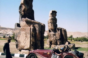 Morgan +8 built by mike roddy motors on rally to turkey and Egypt