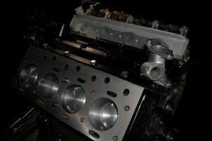 Daimler 2.5 Litre V8 undergoing final build stages